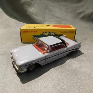 French Dinky 550 Chrysler Seretoga issued 1960 rare colour - Boxed