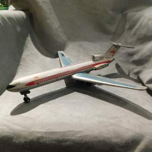 Japanese Tinplate TWA Boeing 727 Aeroplane