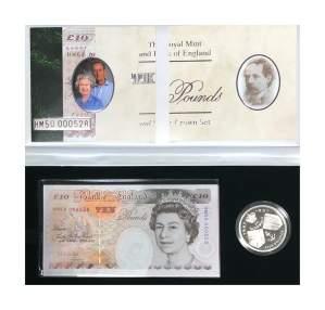 1997 Bank Note Set