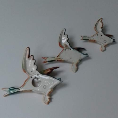 Set of Three Beswick Flying Duck Wall Plaques image-5