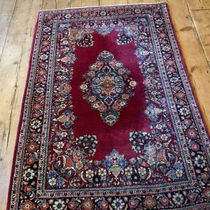 Stunning Hand Knotted Persian Rug Kirman Very Fine Quality