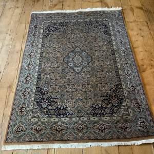 Old Hand Knotted Persian Rug Bidjar Superb Quality Piece