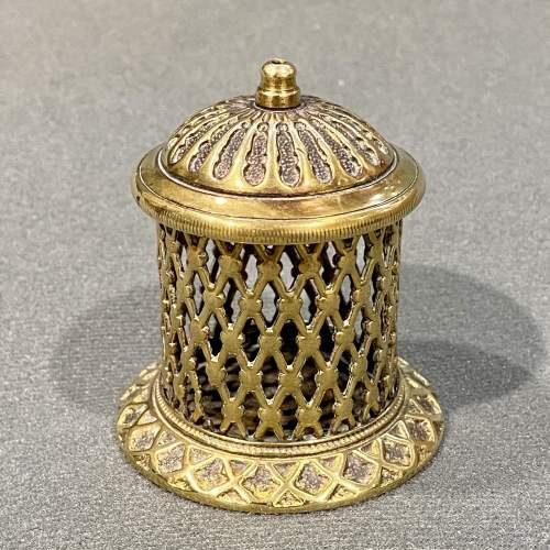 Brass Vesta Match Holder image-1