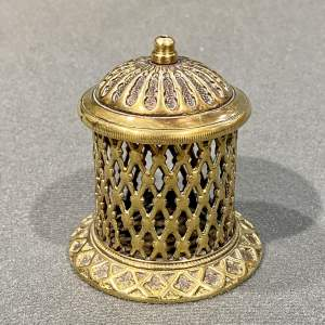 Brass Vesta Match Holder