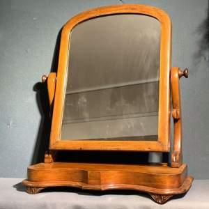 Victorian Mahogany Swing Mirror