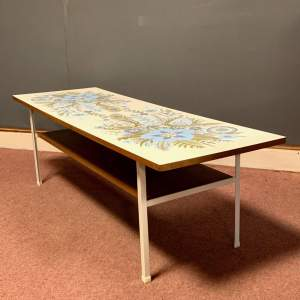 Terence Conran 1960s Long Tom Coffee Table