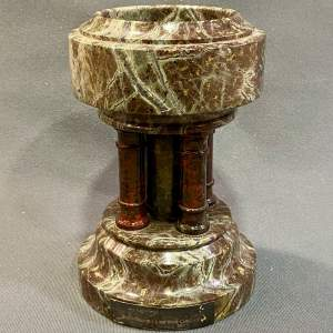Beautiful Quality Miniature Marble Church Font
