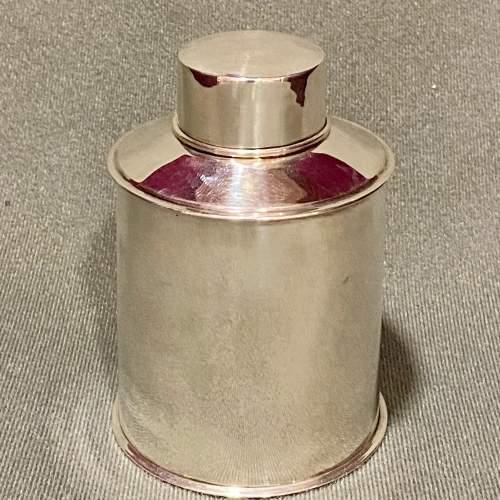 Edwardian Silver Tea Caddy image-1