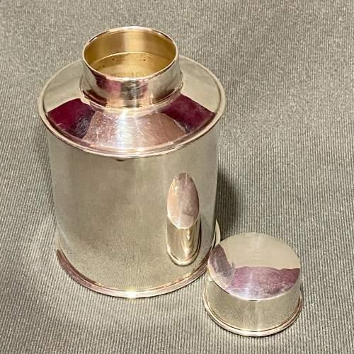 Edwardian Silver Tea Caddy image-2