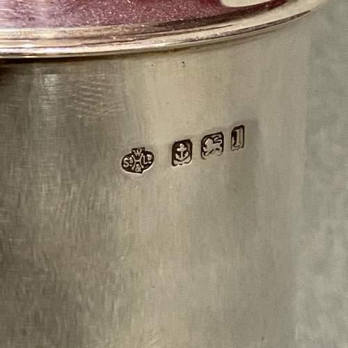 Edwardian Silver Tea Caddy image-3