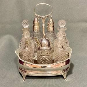 Early 19th Century Georgian Silver Cruet