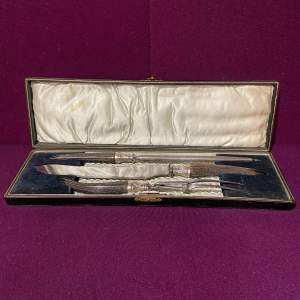 Antler Handled Carving Knife Set