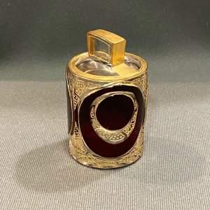 Decorative Small Glass Salt Bottle