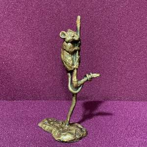 20th Century Ornament Of Hungry Field Mouse