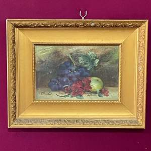 Evelyn Chester Still Life Oil on Board
