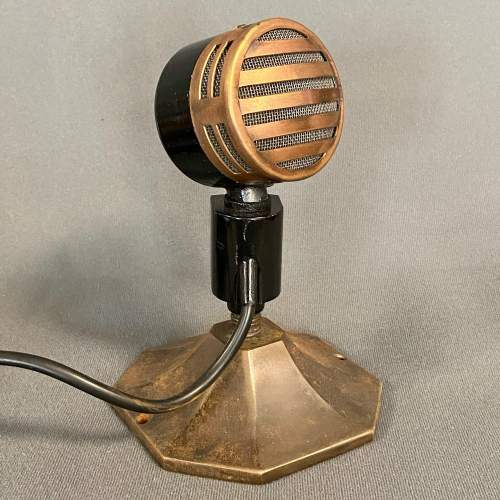 1950s Restored Reslo-Sound Microphone image-1