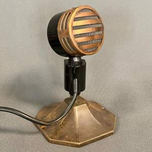 1950s Restored Reslo-Sound Microphone