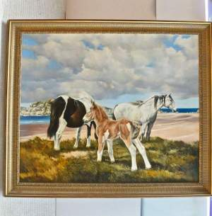 The New Forest Foal by R.P.Reynolds