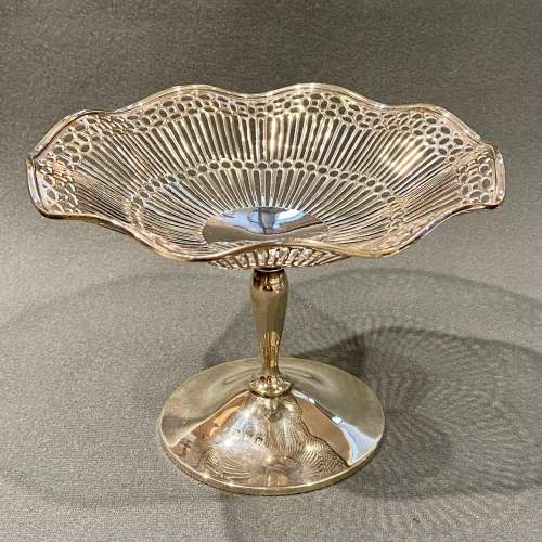 Early 20th Century Silver Compote image-2
