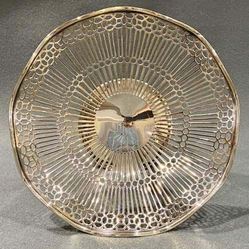 Early 20th Century Silver Compote image-3