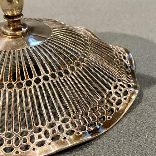 Early 20th Century Silver Compote image-5