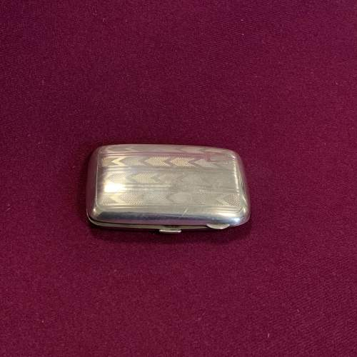 20th Century sterling Silver Calling Card or Cigarette Case image-2