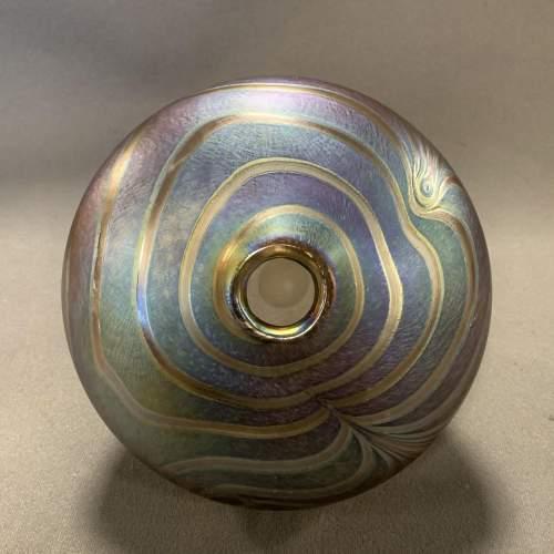 John Ditchfield Glasform Irridescent Glass Vase image-3