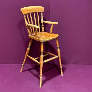 Early 20th Century Childs High Chair