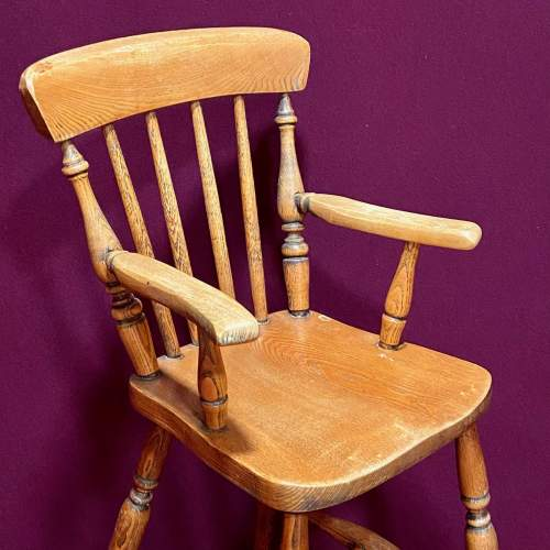 Early 20th Century Childs High Chair image-2