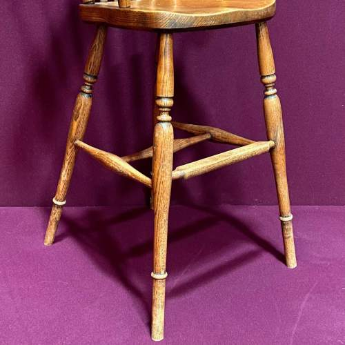 Early 20th Century Childs High Chair image-3
