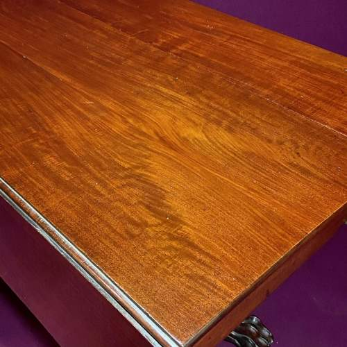 19th Century Mahogany Drop Leaf Breakfast Table image-3