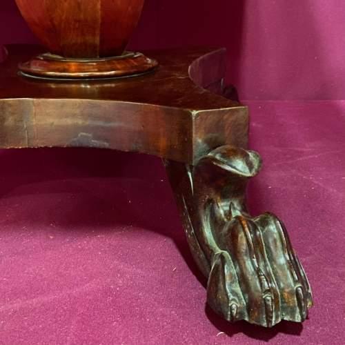 19th Century Mahogany Drop Leaf Breakfast Table image-6