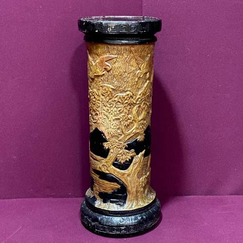 Bretby Art Pottery Jardiniere On Stand image-2