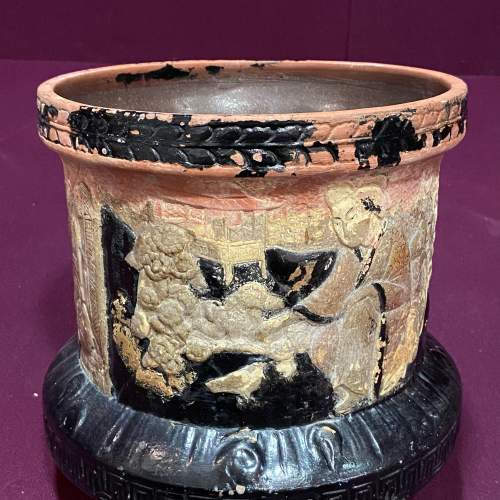 Bretby Art Pottery Jardiniere On Stand image-6