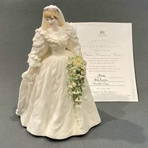 Late 20th Century Coalport Diana Princess of Wales