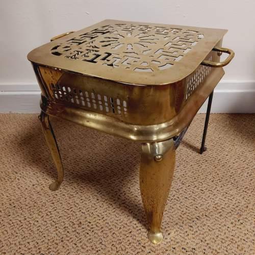 Georgian Brass Footman image-5