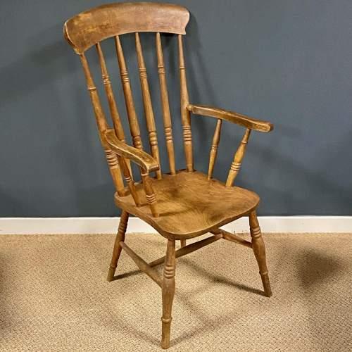 Vintage Elm Windsor Chair image-1