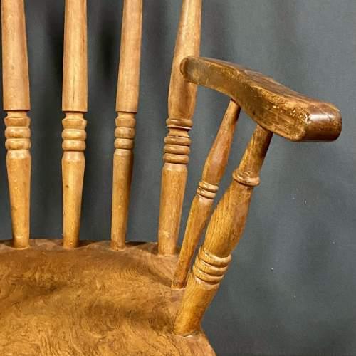 Vintage Elm Windsor Chair image-3