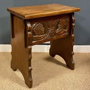18th Century Small Oak Kist