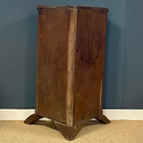 19th Century Carved  Oak Corner Stand image-4
