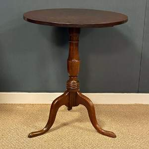 George III Oak Tilt Top Table