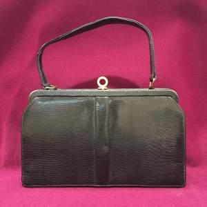 Mappin and Webb Lizard Handbag