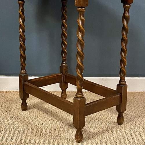 Early 20th Century Oak Side Table image-3