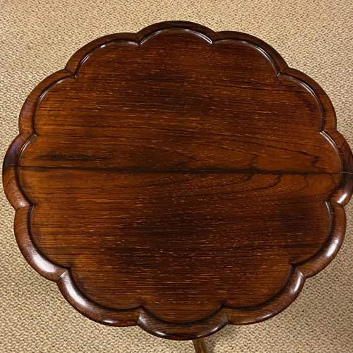 Early 20th Century Rosewood Occasional Table image-3