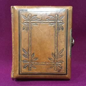 Victorian Leather Photograph Album