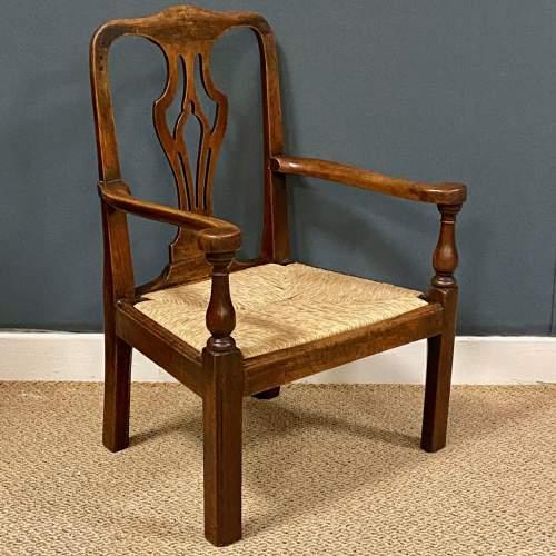18th Century Georgian Childs Chair image-1