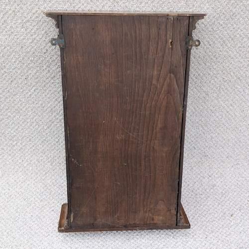 Edwardian Oak Shop Display Cabinet image-4