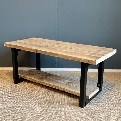 Upcycled Scaffold Board Coffee Table image-1