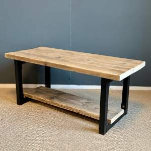 Upcycled Scaffold Board Coffee Table