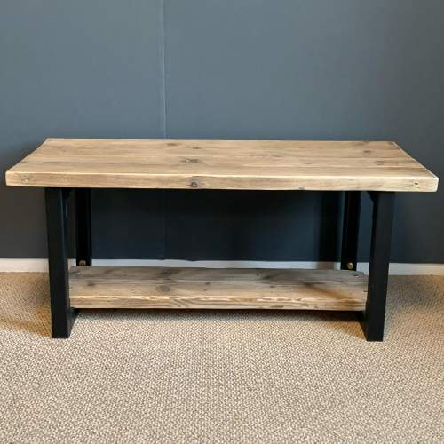Upcycled Scaffold Board Coffee Table image-2